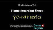 Flame retardant sheet