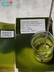 Thermochrome masterbatch