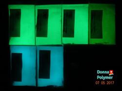 Glow in the dark pigment