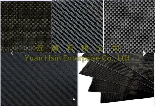 High-quality carbon fibre sheets