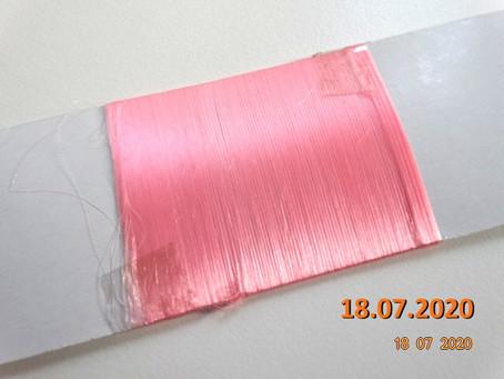 Farbstabilitätstest: Polyamid Fluoreszierender Masterbatch