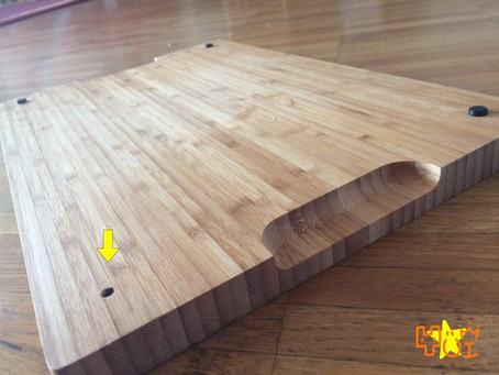 Repairment of the kitch tool: Real example Kitchen board