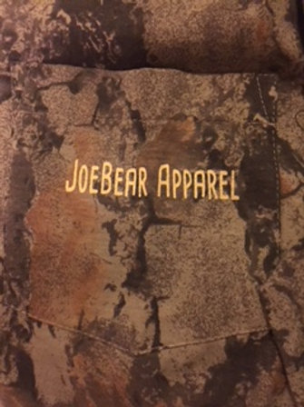 JoeBear Camo Hunting For a Cure (long sleeve)