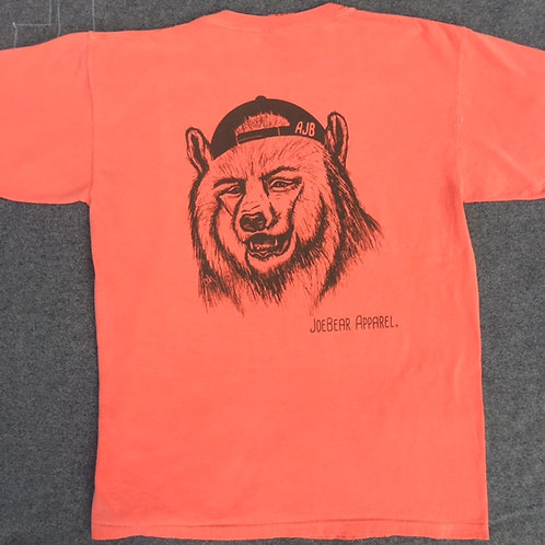 Joe's Eyes (short sleeve) - Bright Salmon