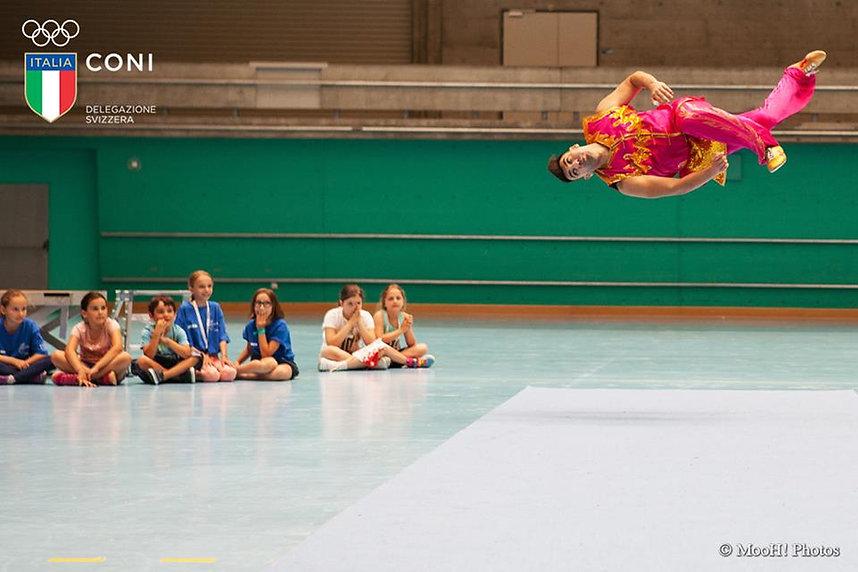 Il campione mondiali di Kung Fu Michele Giordano ospite a Zurigo