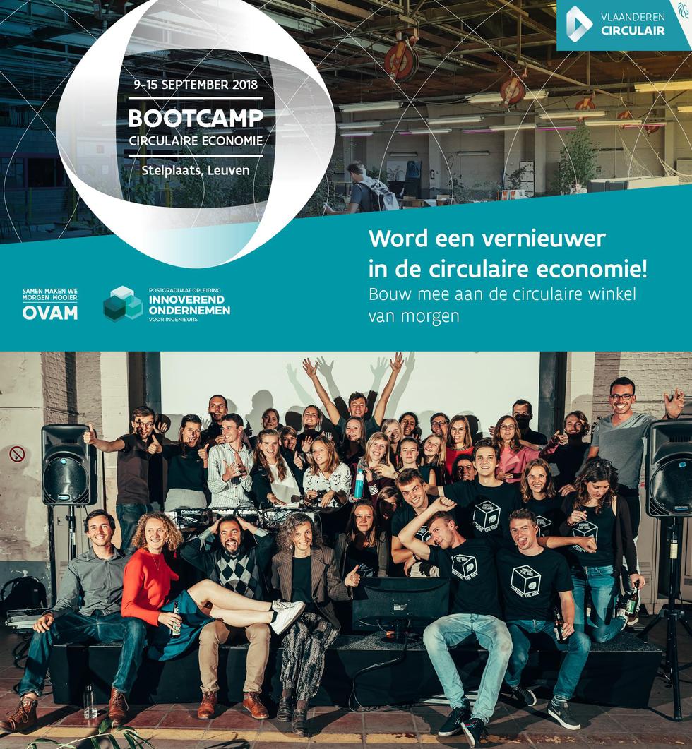 Communication - Bootcamp Circulaire Economie 2018