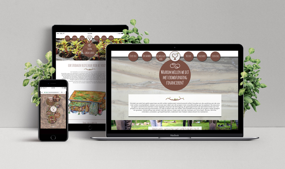 UX & UI Design - Het Voedselbos
