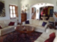 Casa rural lounge corner