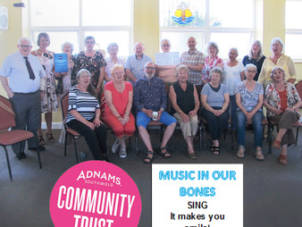 Heartsong: supported by The Adnams Community Trust