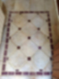 Floor tiles in the Morado room in House for sale Lecrin Valley