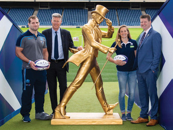 New Partnership Between Johnnie Walker and Scottish Rugby