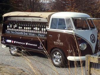 Wine Bar with Wheels