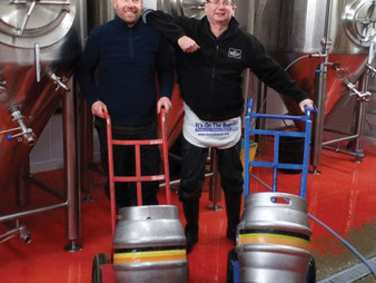 200km Beer Barrel Push to Raise Money for Testicular Cancer