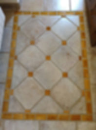 Floor tiles in The Miel room in House for sale Lecrin Valley