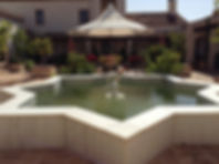 Water feature in Hacienda for sale in the Granada Province, Andalucia