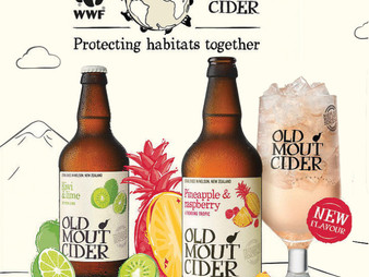 Old Mout Cider and WWF Announce Pledge to Protect Natural Habitat