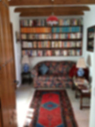 Office library in Hacienda for sale in the Granada Province, Andalucia