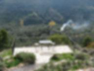 Balcony close to the pool area Hacienda for sale in the Granada Province, Andalucia