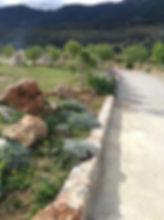 Finca road at Hacienda for sale in the Granada Province, Andalucia