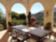 Guest pergola in House for sale Lecrin Valley