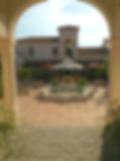 Hacienda for sale, entrance arch