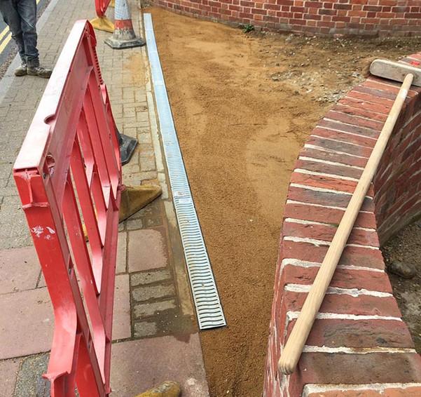entrance drainage