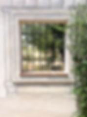 Walled garden window