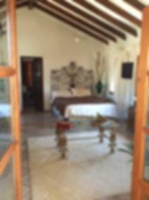 Bedroom from door Lecrin Valley