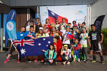 Hill Yang in Gold Coast Marathon 黃金海岸馬拉松