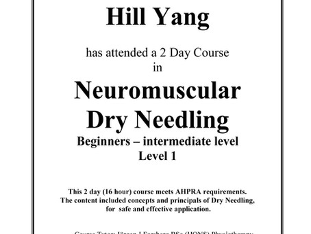 Acupuncture or Dry Needling?