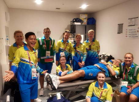 Commonwealth Games 2018 Medical team member
