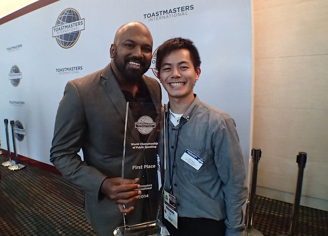 Hill Yang in Toastmasters