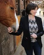 Brigitte SEICHEPINE accueil bureau cheval poney metz