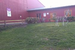 Entrée centre équestre