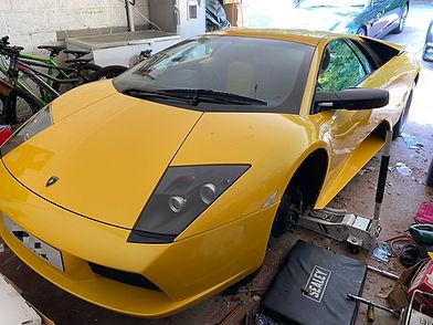 Murcielago Lamborghini RYFT Exhaust, Supercar Servicing, Lamborghini Performante Service. Mobile Supercar Servicing, Ferrari, Maserati, Rolls Royce, Aston Martin, Porsche Servicing and Repair