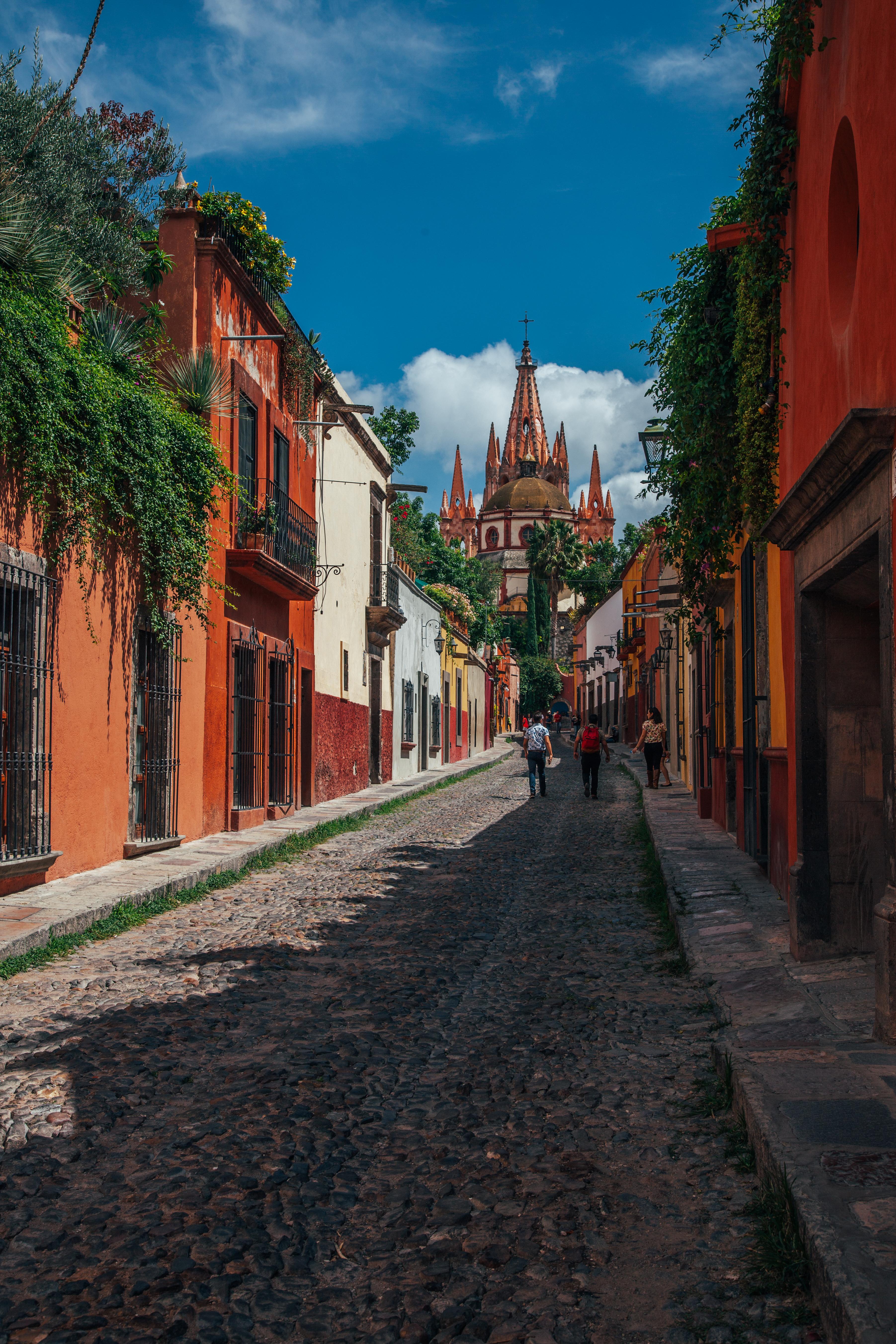 San Miguel de Allende Cobblestones