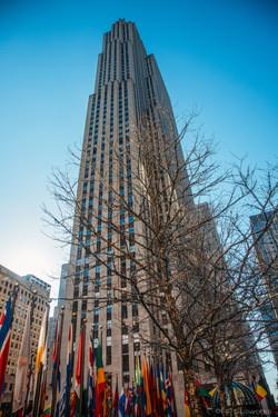 """The Rock"" Rockefeller Plaza & NYC"