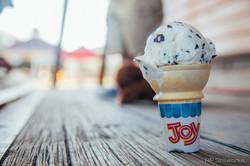 "We all Scream for Ice Cream & Joy"""