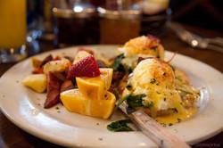 Sweet Maple's Eggs Benedict