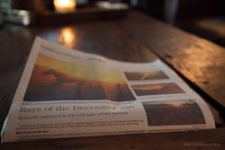 """Rays of the December Sun"""