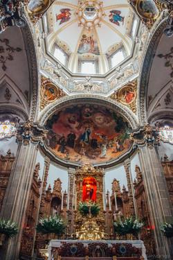 Parroquia San Juan Bautista, Coyoacán, Mexico City
