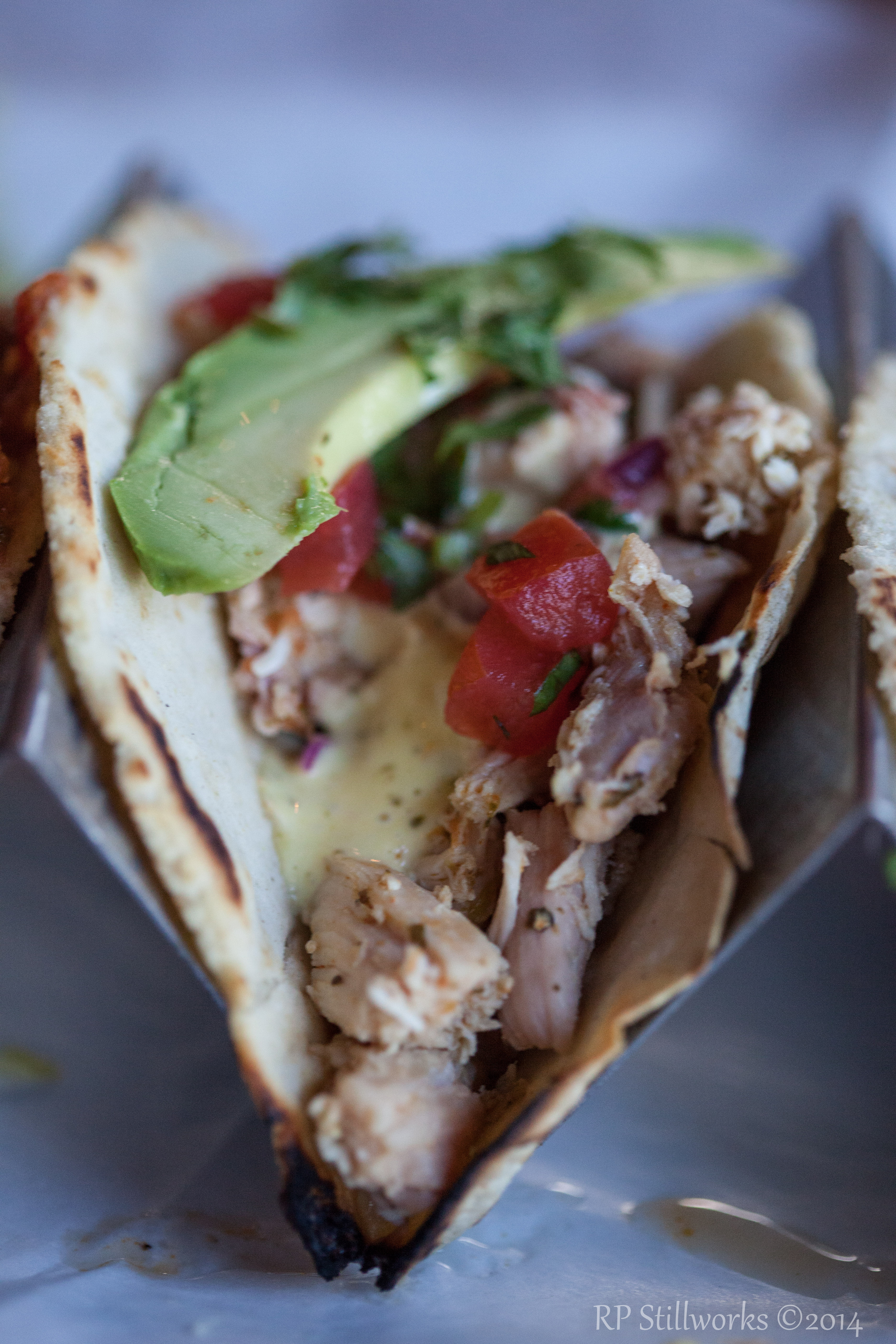 Not Your Standard Chicken Taco