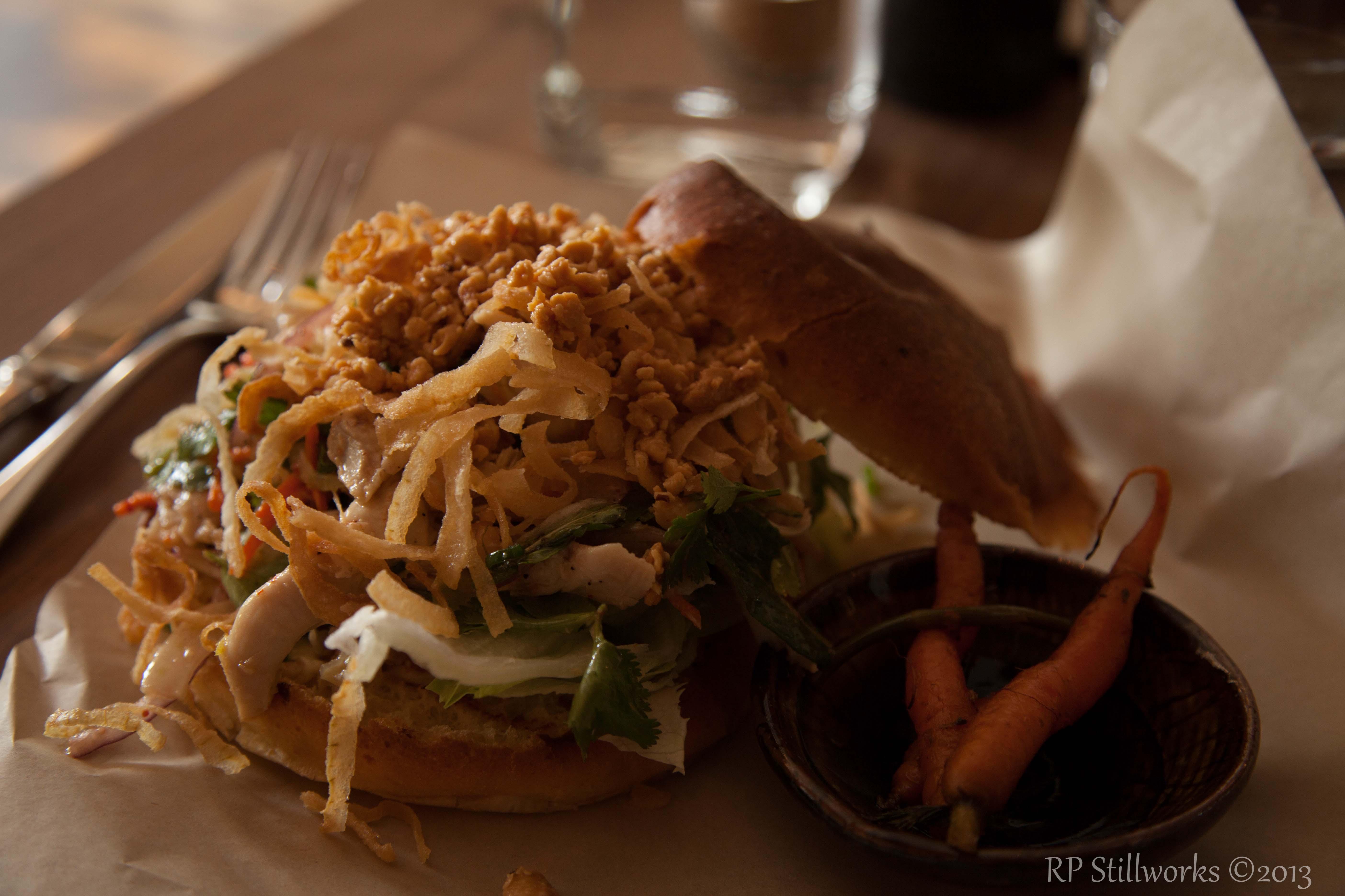 Thai Chicken Salad Sandwich