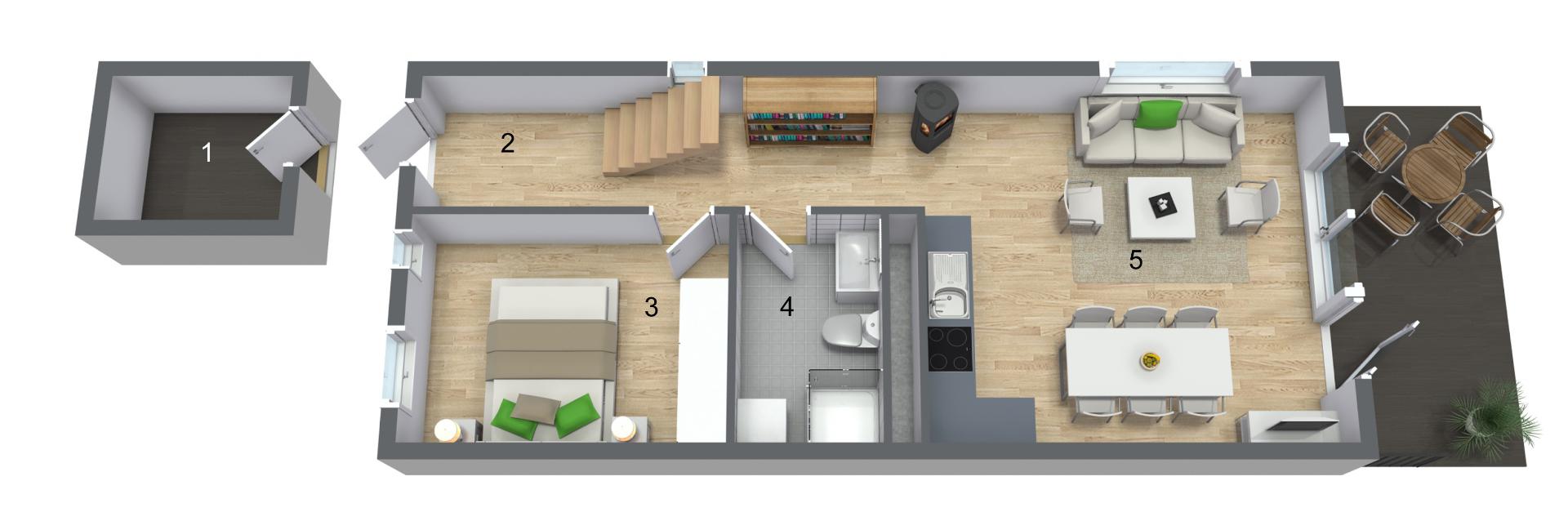 Første etasje