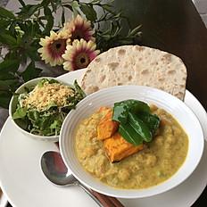 ひよこ豆のカレー Chick Pea Curry