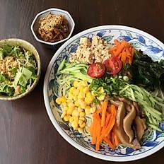 野菜どっさり冷やし中華 Cold Noodle