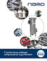nano flanged filter brochure