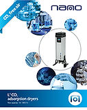 L1 CO2 fee air dryer for purge gas