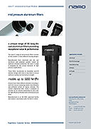 F3 Mitteldruck-Aluminiumfilter