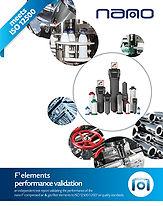 ISO 12500 filter validation